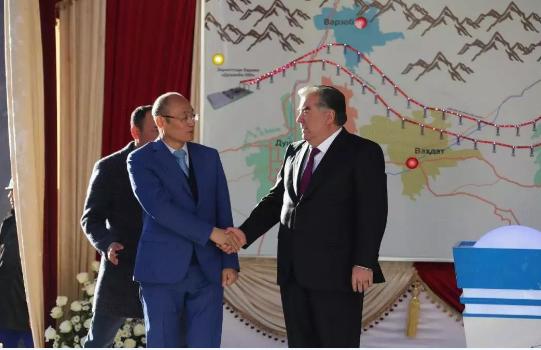 塔吉克斯坦直辖区500千伏输变电项目竣工投运!