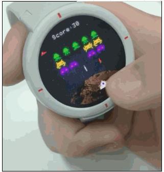 华米AMAZFIT智能手表是其首款智能手表,还能用来打游戏