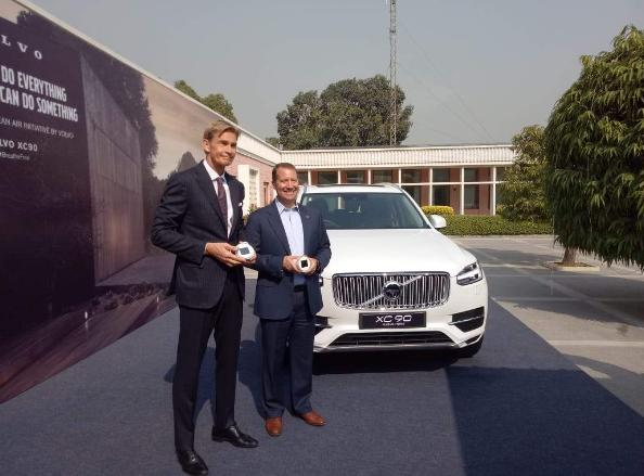 沃尔沃将在印度生产插电式混合动力车
