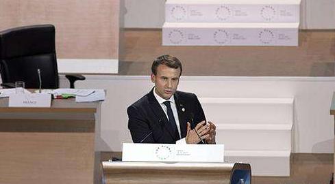 法国总统马克龙:2035年之前关闭14座核反应堆