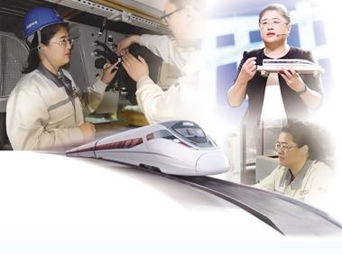 中国四方高铁设计师梁建英简历:我国高铁装备行业唯一的女总工程师