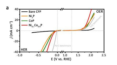 镍掺杂的磷化钴三元纳米片电催化剂制备成功
