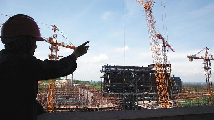 山西长治生活垃圾焚烧发电项目进入主体结构施工阶段