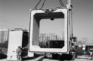 北京通州城市管廊开始施工拼装