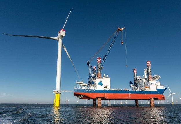 Rampion400兆瓦海上风电场正式开通