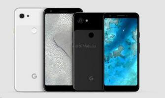 "Pixel 3 Lite和Lite XL外形曝光:均采用全面屏,没有""刘海"""