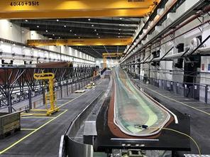 上海电气B75项目首支叶片在连云港叶片工厂成功下线