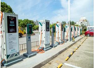 北京市顺义区京东顺义分拣中心充电桩项目正式投入使用