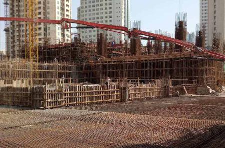 福星股份旗下天立不动产公司钰龙金融广场建设项目无证施工