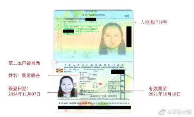 孟晚舟三本护照从何而来?