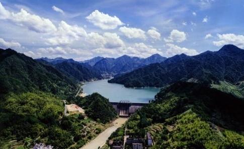 浙江省杭州市淳安县枫树岭生态水电站正式投产
