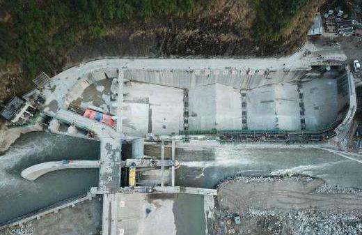 中国电建承建的尼泊尔上博迪克西水电修复项目提早实现导截流工作