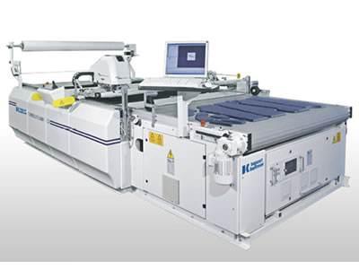 拓卡奔马G16激光裁床:国内首发裁剪设备振镜技术