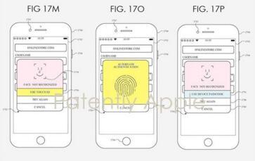 苹果新专利显示指纹识别技术或可回归新款iPhone