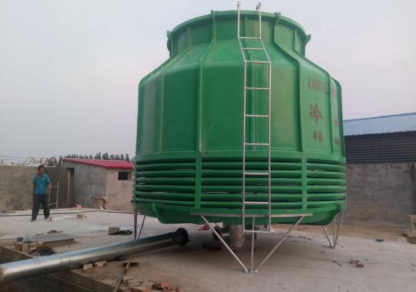 玻璃钢冷却塔的特性及各部件安装方法