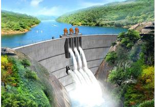 水电十局承建的老挝南立1水电站成功实现下闸蓄水