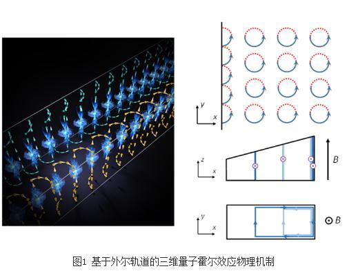揭示基于外尔轨道的三维量子霍尔效应
