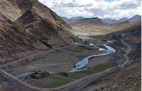 西藏湘河水利枢纽及配套灌区工程正式开工