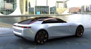 领克0X Coupe轿跑车概念图曝光:采用2+2布局设计,外观极具未来感