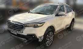 一汽奔腾X80 PHEV车型谍照曝光,预计将于明年第三季度上市