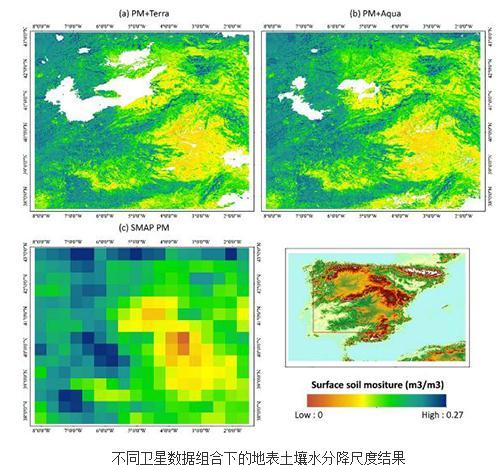 机器学习模型:被动微波的地表土壤水分降尺度研究