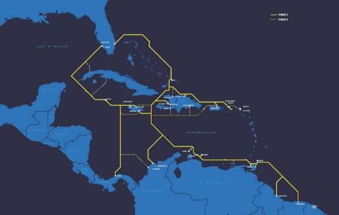 非洲1号海底光缆系统(Africa-1)拟于2021年投产