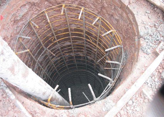 钻孔灌注桩施工工艺流程、准备工作(附记录表)