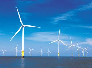 国华东台四期(H2)300兆瓦海上风电场顺利并网投产
