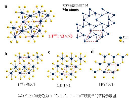 拓扑化学法制备出1T'''MoS2晶体并首次解析出其晶体结构