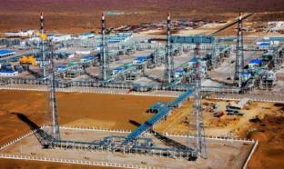 阿姆河天然气公司B区东部气田一期工程正式投产