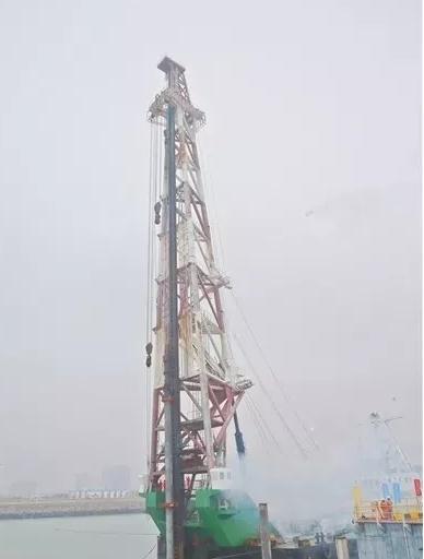 湛江钢铁三高炉系统码头工程正式开工建设
