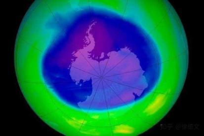 逐步停用氯氟烃等破坏臭氧层的物质,南极臭氧层正在缓慢恢复