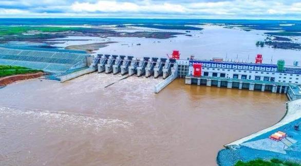 """""""柬埔寨的三峡工程""""桑河二级水电站竣工投产"""