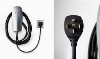 特斯拉推出新款壁挂式充电器,配有NEMA 14-50插头
