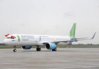 越南航空公司Bamboo Airways首架空客A321neo客机完成首航