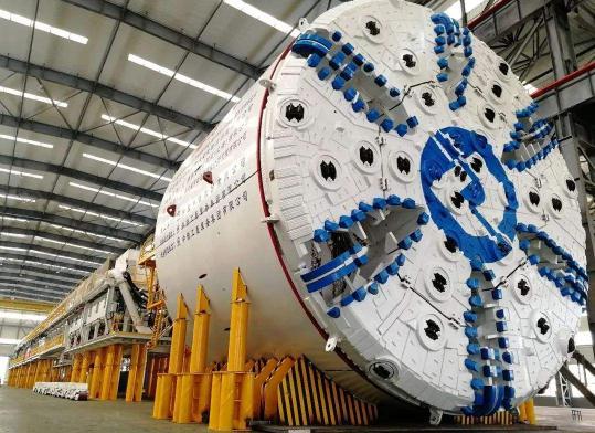 """""""海宏号""""盾构机——堪称中国研发的最聪明的盾构机"""