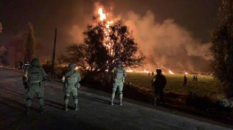 最新消息:墨西哥输油管道爆炸事故79人死亡,事故原因为不法分子偷油