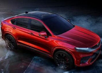 吉利新款FY11轿跑SUV基于沃尔沃XC40紧凑型SUV平台打造