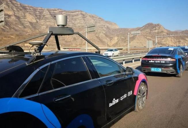 百度在阳泉开展自动驾驶高速路测试
