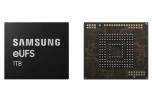 三星开始量产业界首款1TB嵌入式通用闪存2.1