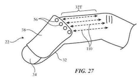 苹果新专利:用手势就可以控制手机