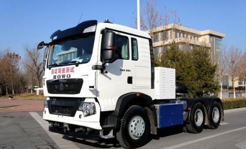 济南首辆无人驾驶电动卡车/货车和客车首次路测