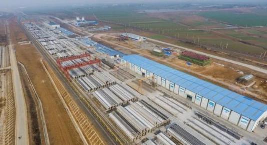 蒙华铁路最新消息:接触网H93支柱整正回填成功