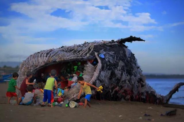沃尔沃等开发living seawall(活海塘)这个项目对抗海洋塑料污染