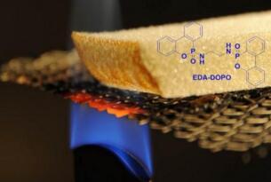 Empa研究所研发出一种可用于防止木材和木质建筑材料燃烧的溶液