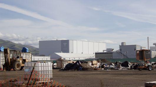 特斯拉加州弗里蒙特工厂发生火灾
