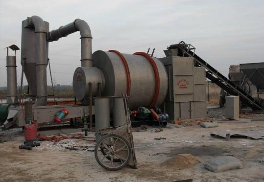 河沙烘干机的特点与6项安装措施