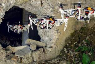 苏黎世大学研制出一种自动折叠无人机,可用于协助搜察及援救任务