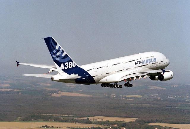 """""""空中巨无霸""""空客A380走向落幕"""