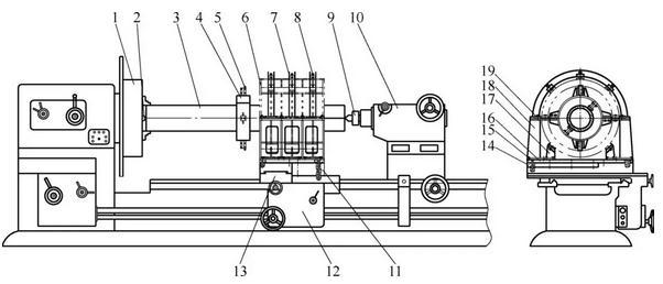 网笼零件内孔车削工装的设计与安装调整